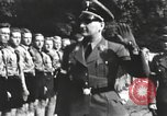 Image of Hitler Youth camp Offenburg Germany, 1937, second 36 stock footage video 65675061202