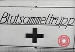 Image of blood donors Germany, 1944, second 1 stock footage video 65675061204