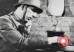 Image of German forces repair telephone line Germany, 1944, second 6 stock footage video 65675061207
