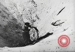 Image of German forces repair telephone line Germany, 1944, second 33 stock footage video 65675061207