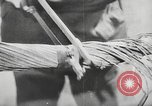Image of German forces repair telephone line Germany, 1944, second 38 stock footage video 65675061207