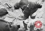 Image of German forces repair telephone line Germany, 1944, second 42 stock footage video 65675061207