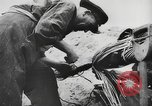 Image of German forces repair telephone line Germany, 1944, second 45 stock footage video 65675061207
