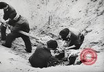 Image of German forces repair telephone line Germany, 1944, second 49 stock footage video 65675061207