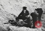 Image of German forces repair telephone line Germany, 1944, second 54 stock footage video 65675061207