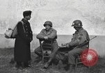 Image of US soldiers interview Hungarian military school boys Freyung Germany, 1945, second 6 stock footage video 65675061211