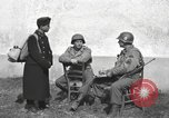 Image of US soldiers interview Hungarian military school boys Freyung Germany, 1945, second 10 stock footage video 65675061211