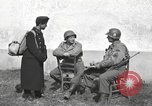 Image of US soldiers interview Hungarian military school boys Freyung Germany, 1945, second 15 stock footage video 65675061211