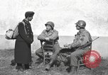 Image of US soldiers interview Hungarian military school boys Freyung Germany, 1945, second 20 stock footage video 65675061211