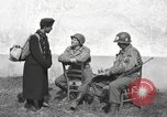 Image of US soldiers interview Hungarian military school boys Freyung Germany, 1945, second 23 stock footage video 65675061211