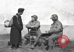 Image of US soldiers interview Hungarian military school boys Freyung Germany, 1945, second 25 stock footage video 65675061211
