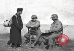 Image of US soldiers interview Hungarian military school boys Freyung Germany, 1945, second 31 stock footage video 65675061211