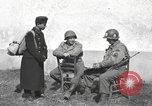 Image of US soldiers interview Hungarian military school boys Freyung Germany, 1945, second 32 stock footage video 65675061211