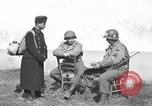Image of US soldiers interview Hungarian military school boys Freyung Germany, 1945, second 34 stock footage video 65675061211