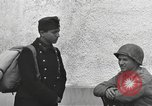 Image of US soldiers interview Hungarian military school boys Freyung Germany, 1945, second 35 stock footage video 65675061211