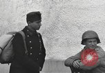 Image of US soldiers interview Hungarian military school boys Freyung Germany, 1945, second 38 stock footage video 65675061211