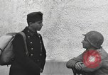 Image of US soldiers interview Hungarian military school boys Freyung Germany, 1945, second 44 stock footage video 65675061211