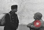 Image of US soldiers interview Hungarian military school boys Freyung Germany, 1945, second 45 stock footage video 65675061211