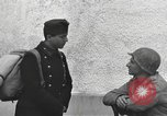 Image of US soldiers interview Hungarian military school boys Freyung Germany, 1945, second 46 stock footage video 65675061211