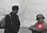 Image of US soldiers interview Hungarian military school boys Freyung Germany, 1945, second 51 stock footage video 65675061211