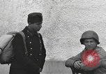 Image of US soldiers interview Hungarian military school boys Freyung Germany, 1945, second 55 stock footage video 65675061211