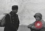 Image of US soldiers interview Hungarian military school boys Freyung Germany, 1945, second 56 stock footage video 65675061211