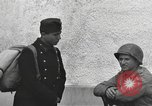 Image of US soldiers interview Hungarian military school boys Freyung Germany, 1945, second 57 stock footage video 65675061211