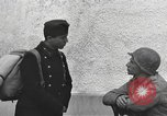 Image of US soldiers interview Hungarian military school boys Freyung Germany, 1945, second 59 stock footage video 65675061211