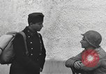 Image of US soldiers interview Hungarian military school boys Freyung Germany, 1945, second 61 stock footage video 65675061211