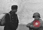 Image of US soldiers interview Hungarian military school boys Freyung Germany, 1945, second 62 stock footage video 65675061211