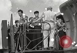 Image of survivors of USS Indianapolis Guam Mariana Islands, 1945, second 10 stock footage video 65675061212