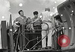 Image of survivors of USS Indianapolis Guam Mariana Islands, 1945, second 13 stock footage video 65675061212