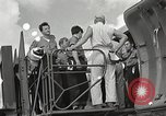 Image of survivors of USS Indianapolis Guam Mariana Islands, 1945, second 16 stock footage video 65675061212