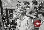 Image of survivors of USS Indianapolis Guam Mariana Islands, 1945, second 24 stock footage video 65675061212