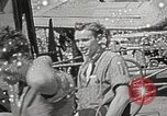 Image of survivors of USS Indianapolis Guam Mariana Islands, 1945, second 31 stock footage video 65675061212
