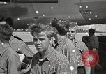 Image of survivors of USS Indianapolis Guam Mariana Islands, 1945, second 53 stock footage video 65675061212