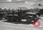 Image of naval supply depot Guam Mariana Islands, 1945, second 25 stock footage video 65675061216