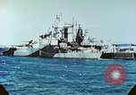 Image of U.S. warships in a World War II Task Force. Pacific Theater, 1944, second 53 stock footage video 65675061220