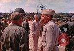 Image of Admiral Richmond Turner Saipan Northern Mariana Islands, 1944, second 1 stock footage video 65675061222