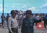 Image of Admiral Richmond Turner Saipan Northern Mariana Islands, 1944, second 10 stock footage video 65675061222
