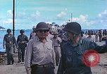 Image of Admiral Richmond Turner Saipan Northern Mariana Islands, 1944, second 11 stock footage video 65675061222