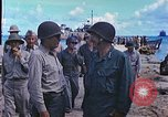 Image of Admiral Richmond Turner Saipan Northern Mariana Islands, 1944, second 13 stock footage video 65675061222