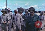 Image of Admiral Richmond Turner Saipan Northern Mariana Islands, 1944, second 14 stock footage video 65675061222