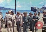 Image of Admiral Richmond Turner Saipan Northern Mariana Islands, 1944, second 16 stock footage video 65675061222
