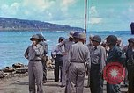 Image of Admiral Richmond Turner Saipan Northern Mariana Islands, 1944, second 18 stock footage video 65675061222