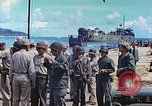 Image of Admiral Richmond Turner Saipan Northern Mariana Islands, 1944, second 22 stock footage video 65675061222