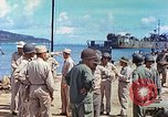 Image of Admiral Richmond Turner Saipan Northern Mariana Islands, 1944, second 26 stock footage video 65675061222