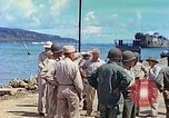 Image of Admiral Richmond Turner Saipan Northern Mariana Islands, 1944, second 28 stock footage video 65675061222