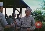 Image of Admiral Richmond Turner Saipan Northern Mariana Islands, 1944, second 56 stock footage video 65675061222