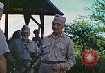 Image of Admiral Richmond Turner Saipan Northern Mariana Islands, 1944, second 58 stock footage video 65675061222